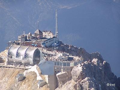 Luftbild Zugspitze