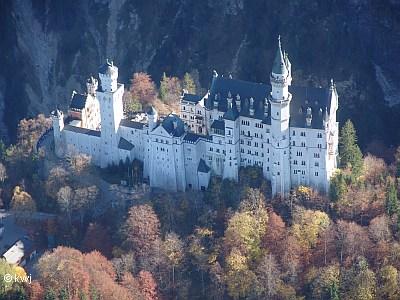 Luftbild Neuschwanstein