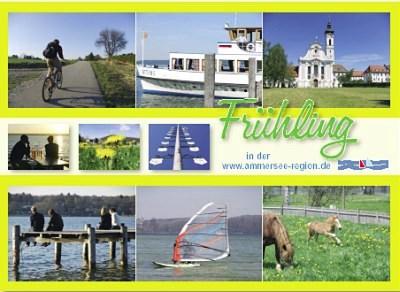 Frühling Urlaub in Bayern am Ammersee