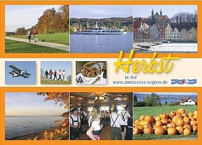 Herbst Urlaub in Bayern am Ammersee