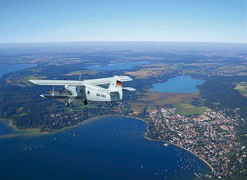 Ammerseeregion - Rundflug über die Urlaubsorte am Ammersee