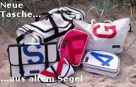Segeltuch-Taschen Design von Scapo