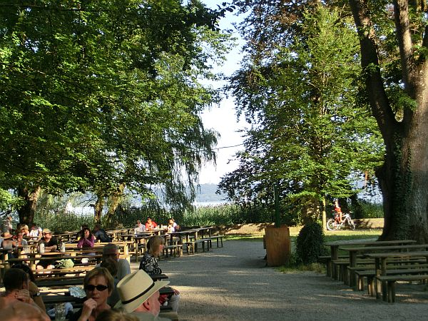 Ammersee - Biergarten