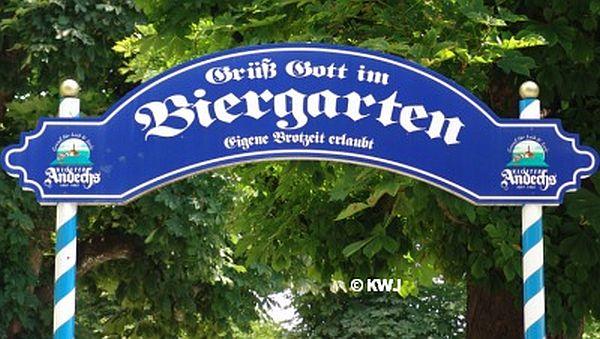 Ammersee-Biergarten