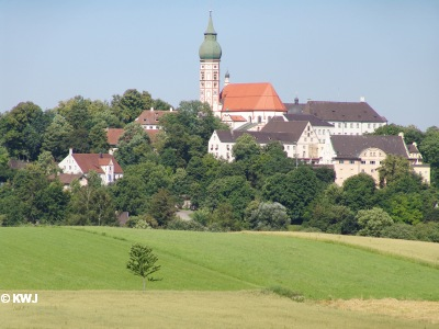 Famous Monastery Andechs