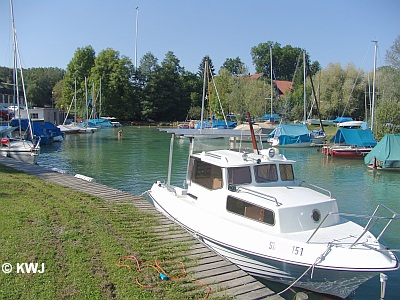 Boot am Wörthsee