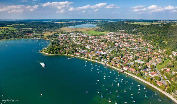 Sommer Urlaub in Bayern am Ammersee