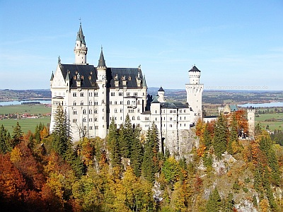 Castle Neuschwanstein Upper Bavaria