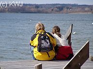 Foto: Rast am Ammersee
