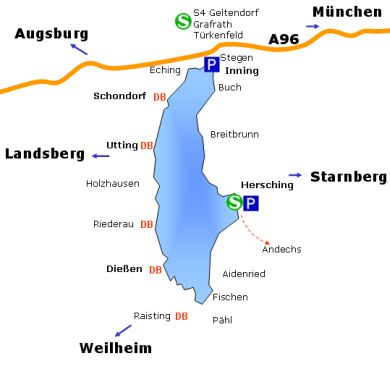 Ammersee-Plan