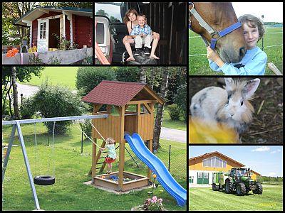 Urlaub auf dem Bauernhof bei Familie Drexl in Schwifting
