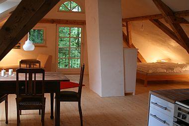 Foto: Ferienwohnung in Diessen am Ammersee - Dachstudio Schwarz-Rodach
