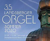 Orgelfestival Landsberg am Lech