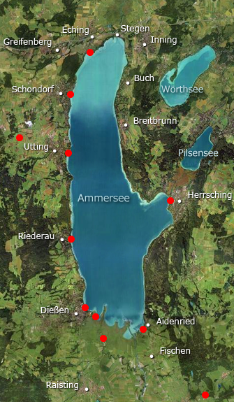Ammersee-Panoramen