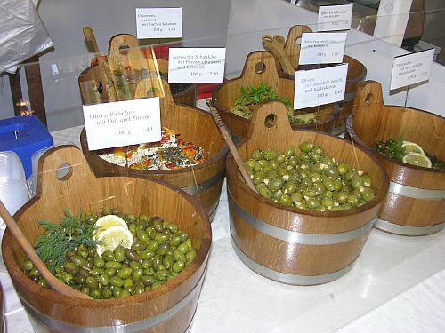 Oliven & Eingelegtes Markthalle Diessen - Foto