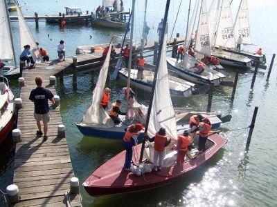 Segel-Kurs für Kinder in Diessen am Ammersee: Ammersee-Segelschule Diessen