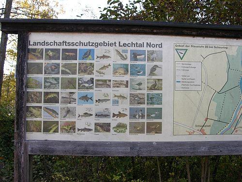 Naturschutzgebiet Lech Staustufe 20 Scheuring