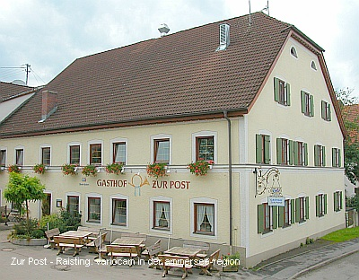 Gasthof Zur Post in Raisting