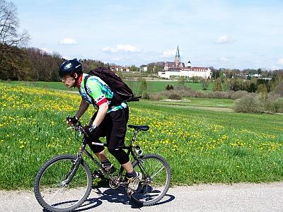 Radel-Urlaub in Bayern in der Ammersee-Region