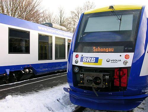 Ammersee Bahn Bayerische Regiobahn Veolia
