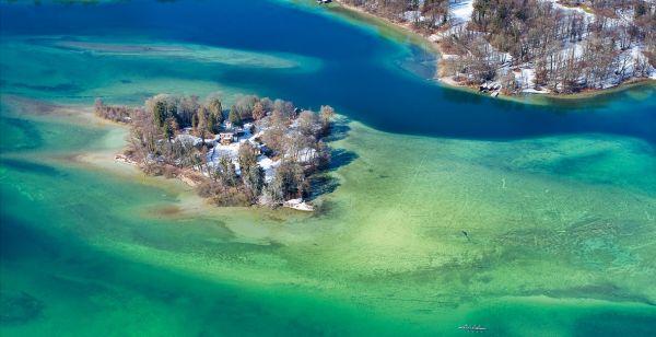 Foto Bodenbender Starnberger See Roseninsel