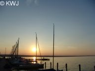 Foto: Abendstimmung in Fischen-Aidenried am Ammersee