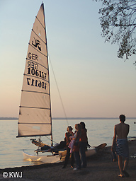 Abendstimmung in Pähl - Aidenried am Ammersee