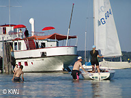 Segeln in Utting am Ammersee