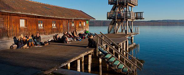 Fr�hling - Urlaub am Ammersee in Bayern