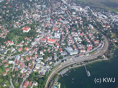 Starnberg Und Der Starnberger See In Der Ammersee Region
