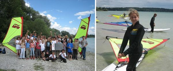 Foto: Surfschule Müller, Eching Ammersee