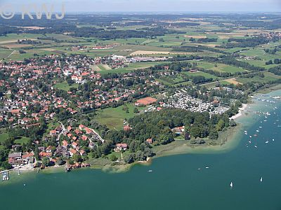 Utting   Fremdenverkehr in Utting am Ammersee, Tourismus Utting