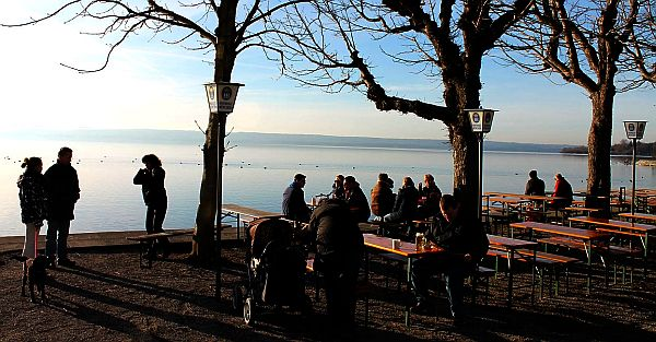 Ammersee-Region Winter in Herrsching