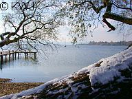 Ammersee im Winter