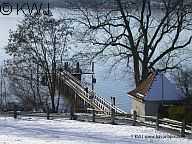 Breitbrunn am Ammersee im Winter