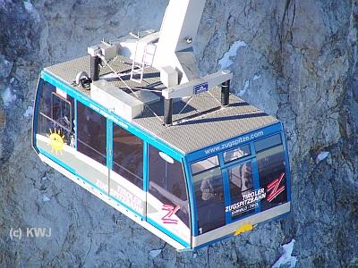 Fotos von der Zugspitze