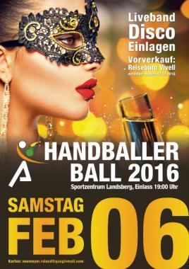 Handballer-Ball Landsberg